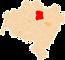Powiat wołowski - mapa