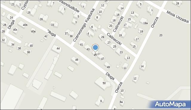 Kwidzyn, Długa, 45, mapa Kwidzyn
