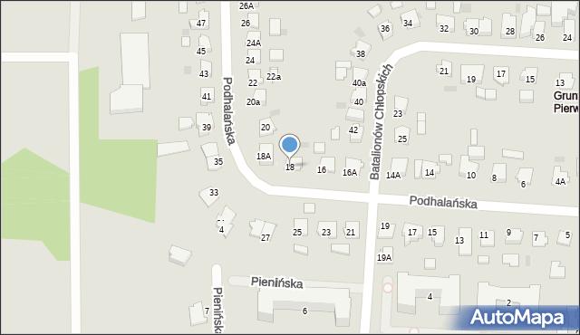 Brodnica, Gwardii Ludowej, 18, mapa Brodnica