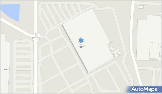 Warszawa, Malborska, 51, mapa Warszawy