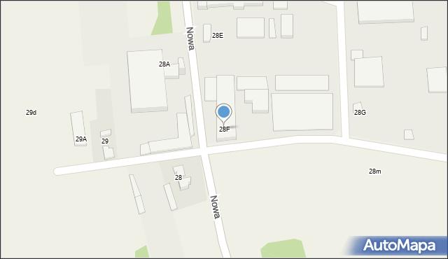 Czyżowice, Nowa, 28f, mapa Czyżowice