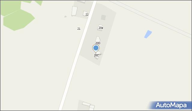 Nowa Wieś, Nowa Wieś, 20c, mapa Nowa Wieś