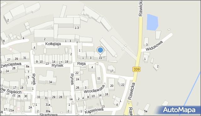 Wołów, Reja Mikołaja, 11, mapa Wołów