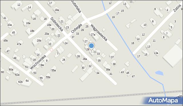 Poznań, Sobotecka, 31, mapa Poznania