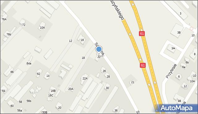 Jabłonna, Szkolna, 22, mapa Jabłonna