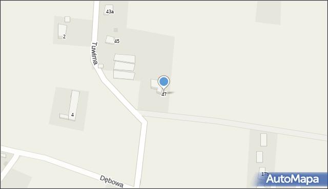 Mnich, Tuwima, 47, mapa Mnich