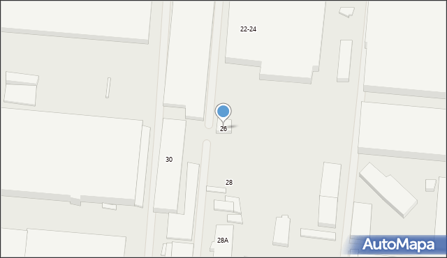 Wrocław, Wagonowa, 26, mapa Wrocławia