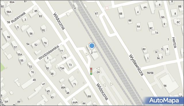 Warszawa, Widoczna, 2, mapa Warszawy