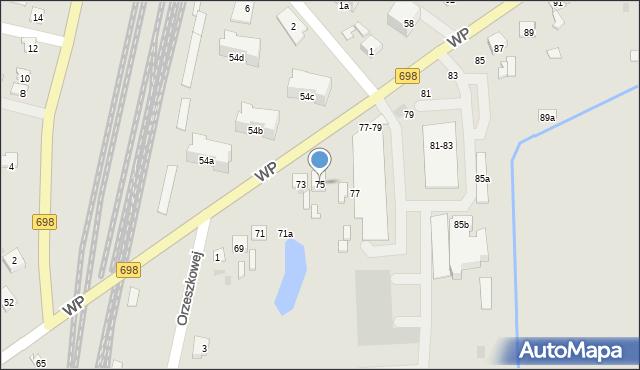 Terespol, Wojska Polskiego, 75, mapa Terespol