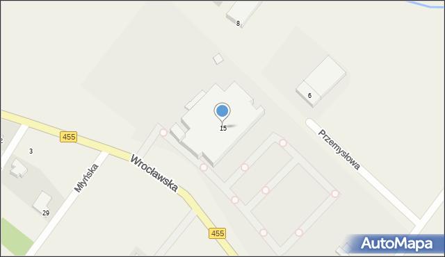 Gajków, Wrocławska, 15, mapa Gajków