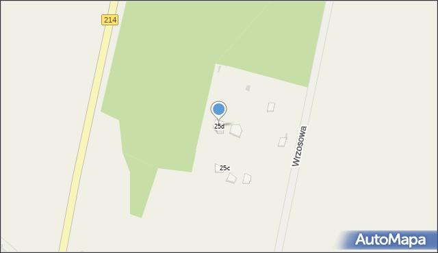 Skorzewo, Wrzosowa, 26, mapa Skorzewo