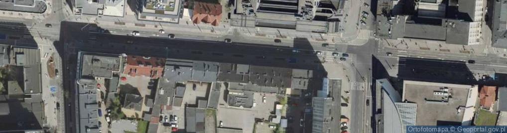 Zdjęcie satelitarne 10 Lutego ul.