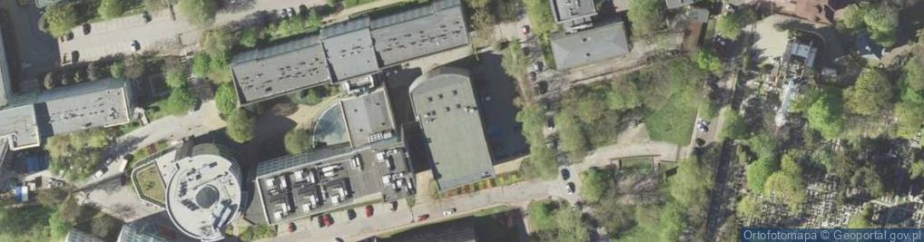 Zdjęcie satelitarne Akademicka ul.
