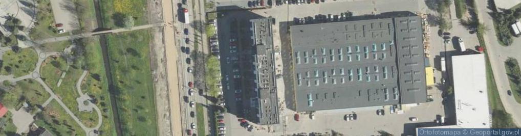 Zdjęcie satelitarne Aleja 1000-lecia Państwa Polskiego 4