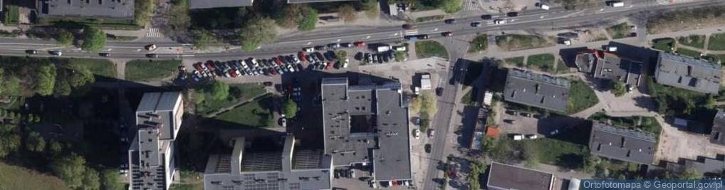 Zdjęcie satelitarne Aleja Powstańców Wielkopolskich al.