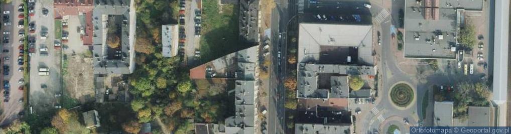 Zdjęcie satelitarne Aleja Wolności 22