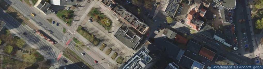 Zdjęcie satelitarne Aleja Grunwaldzka al.