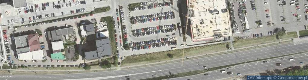 Zdjęcie satelitarne Aleja Bora-Komorowskiego Tadeusza, gen. al.