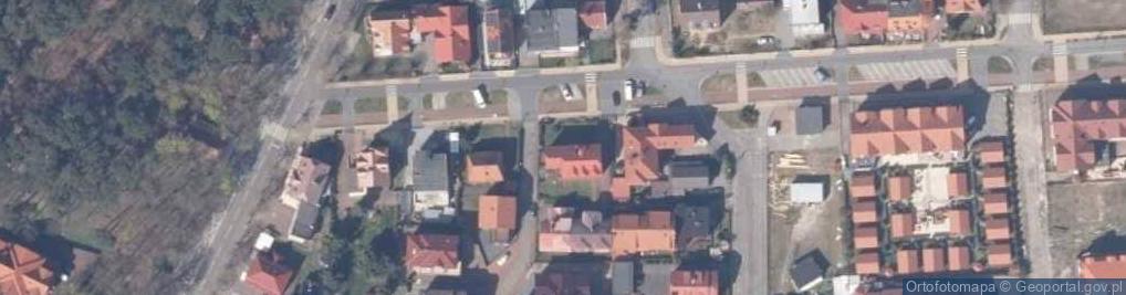 Zdjęcie satelitarne Aleja Brzozowa al.