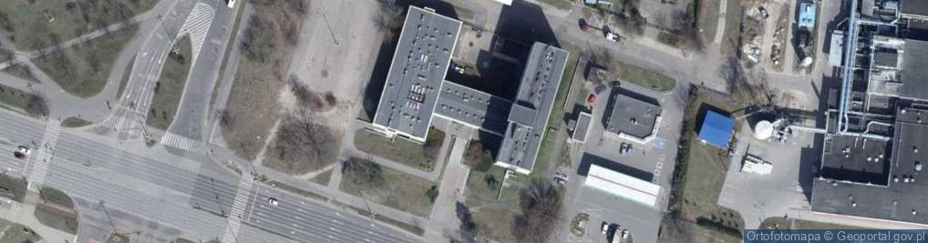 Zdjęcie satelitarne Aleksandrowska ul.