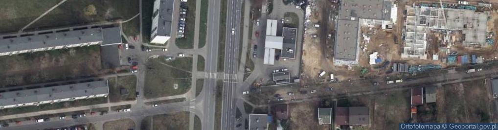 Zdjęcie satelitarne Aleja Armii Krajowej al.