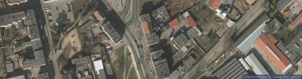 Zdjęcie satelitarne Aleja Wojska Polskiego 26