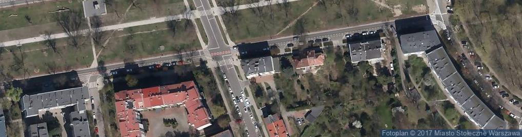 Zdjęcie satelitarne Aleja Wojska Polskiego 25