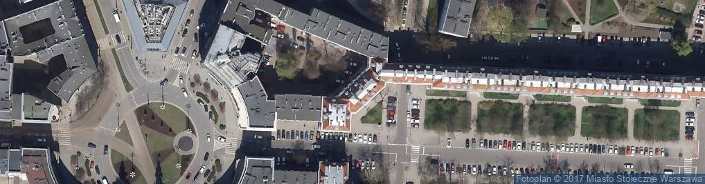 Zdjęcie satelitarne Aleja Wyzwolenia 14