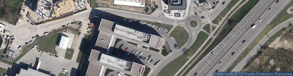 Zdjęcie satelitarne Aleje Jerozolimskie 172