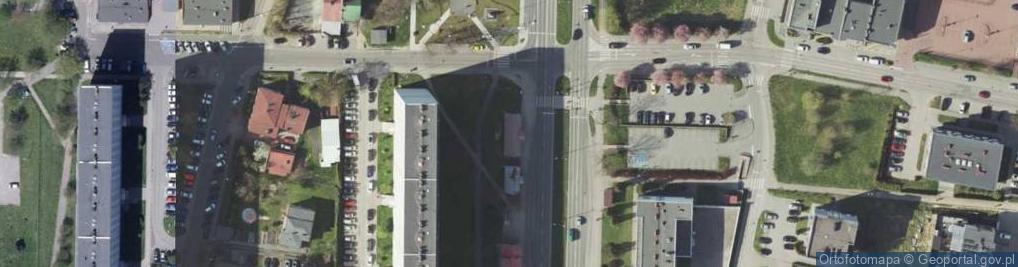 Zdjęcie satelitarne Aleja Jana Pawła II 2