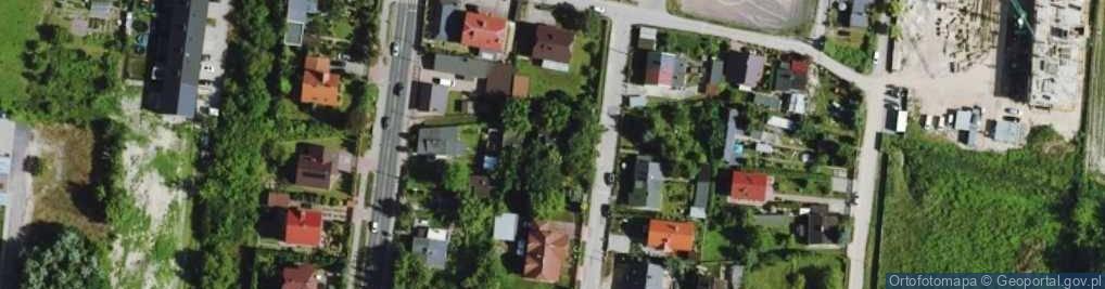 Zdjęcie satelitarne Asnyka Adama 4