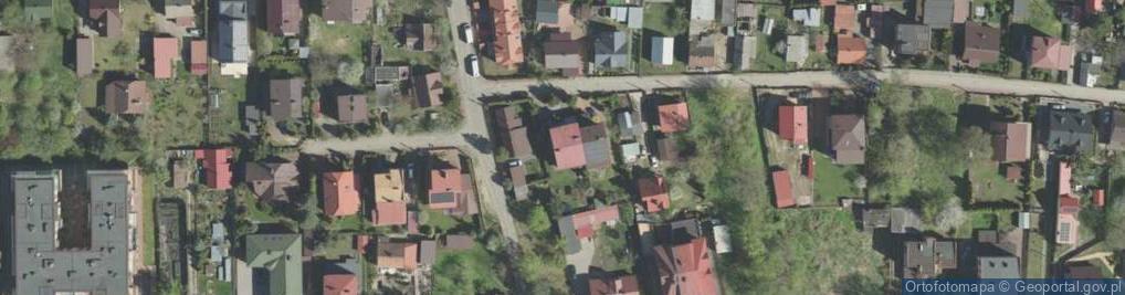 Zdjęcie satelitarne Bagnowska 6/1