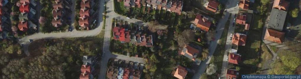 Zdjęcie satelitarne Barokowa 14