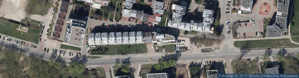 Zdjęcie satelitarne Bartycka ul.