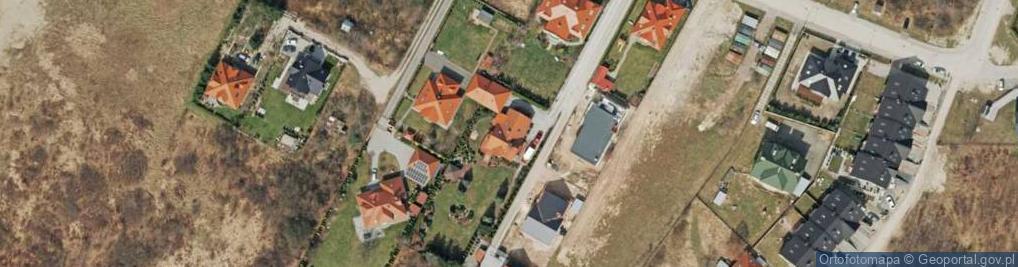 Zdjęcie satelitarne Bęczkowska 53a