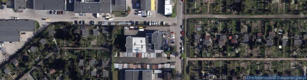Zdjęcie satelitarne Bielicka 78