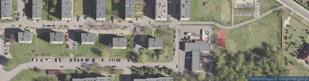 Zdjęcie satelitarne Biała Przemsza 19