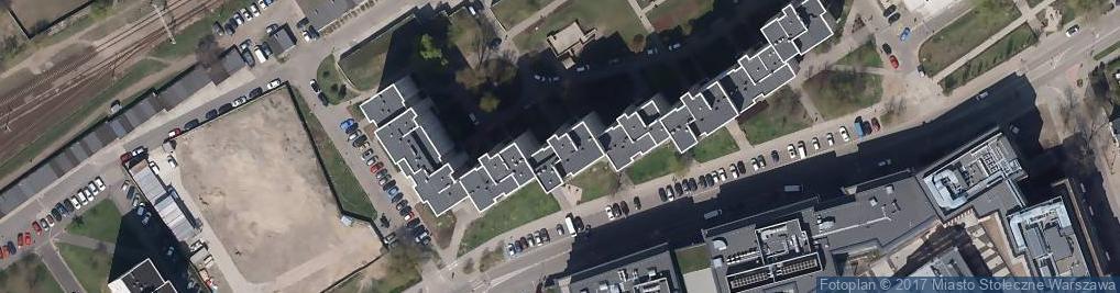 Zdjęcie satelitarne Białostocka 7