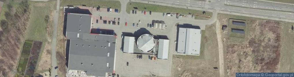 Zdjęcie satelitarne Błonie ul.