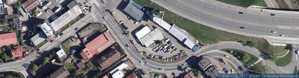Zdjęcie satelitarne Błękitna 78