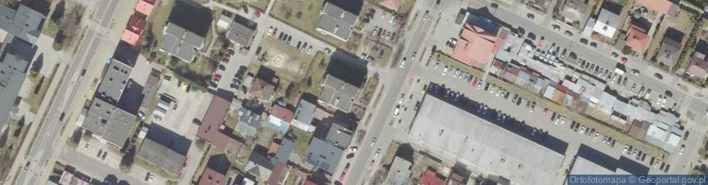 Zdjęcie satelitarne Bohaterów Monte Cassino ul.