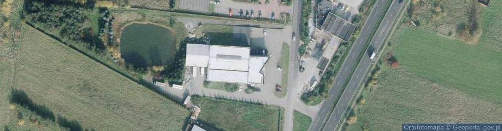 Zdjęcie satelitarne Bohaterów Katynia 162/170