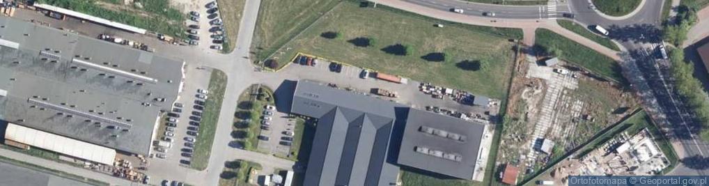 Zdjęcie satelitarne Bohaterów Warszawy 33
