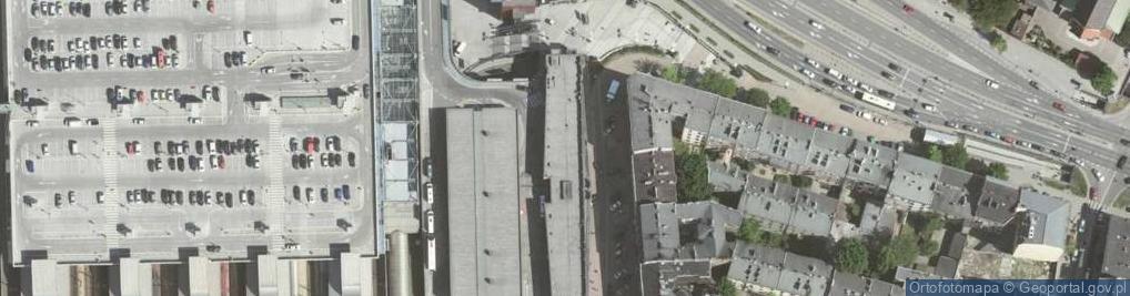 Zdjęcie satelitarne Bosacka ul.