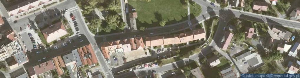 Zdjęcie satelitarne Bolesławiecka 18