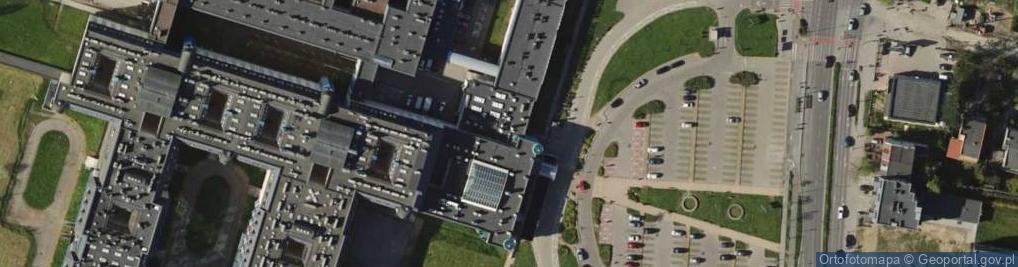 Zdjęcie satelitarne Borowska ul.
