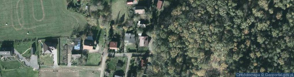 Zdjęcie satelitarne Brzoskwiniowa 57