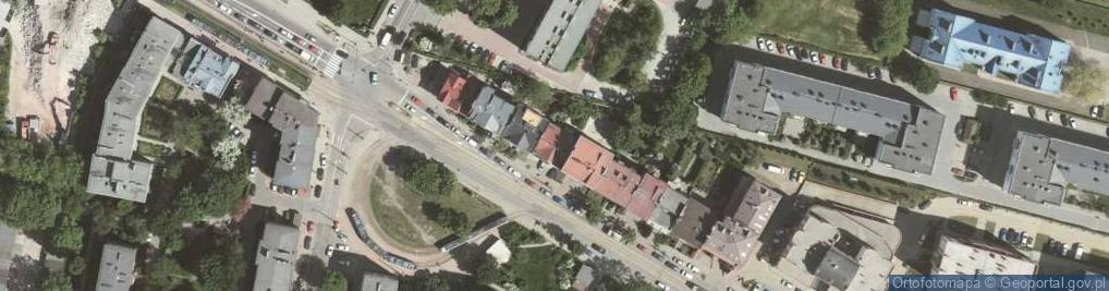 Zdjęcie satelitarne Bronowicka 33