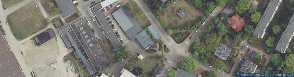 Zdjęcie satelitarne Brzozowa 3