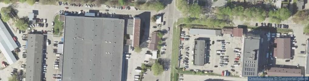 Zdjęcie satelitarne Bursaki ul.